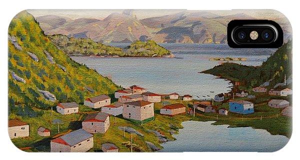 Gaultois Village Newfoundland IPhone Case