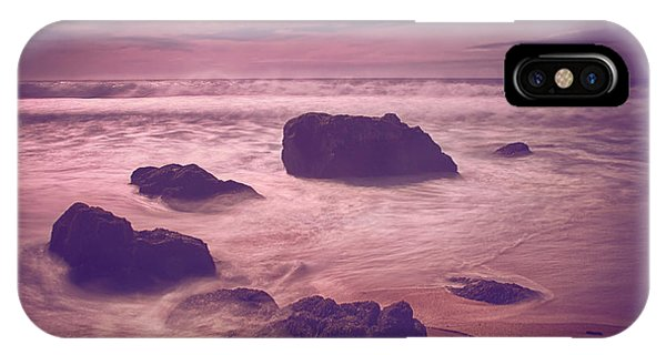 Tidal Waves iPhone Case - Gave Me Everything You Had by Laurie Search