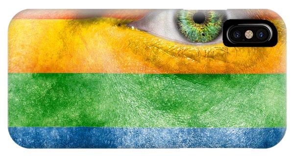 Gay Pride Flag iPhone Case - Gay Pride by Semmick Photo