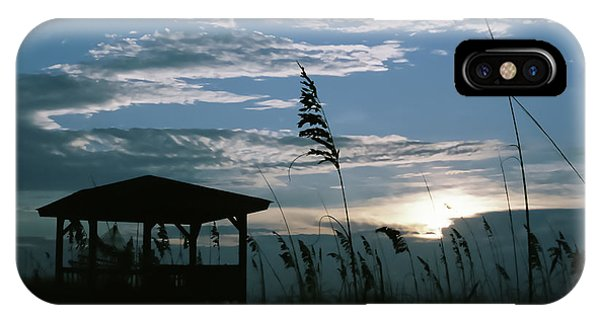 iPhone Case - Gazebo In The Dunes by Cynthia Leaphart