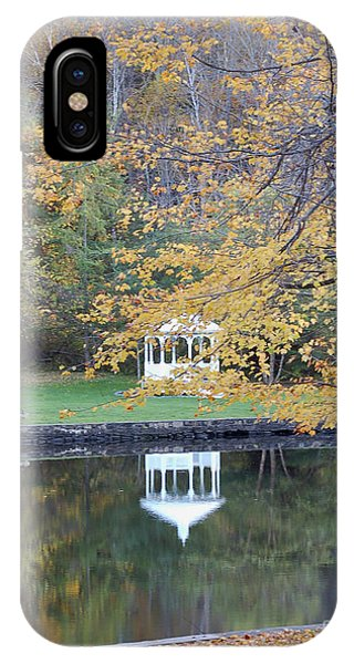 Gazebo Reflection Phone Case by Faith Harron Boudreau