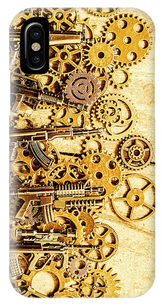 Armed iPhone Case - Gearing For War by Jorgo Photography - Wall Art Gallery