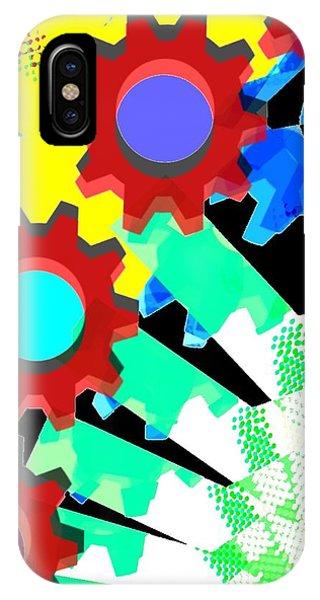Gears 5/ Flowers IPhone Case