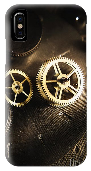 Metal iPhone Case - Gears Of Automation by Jorgo Photography - Wall Art Gallery