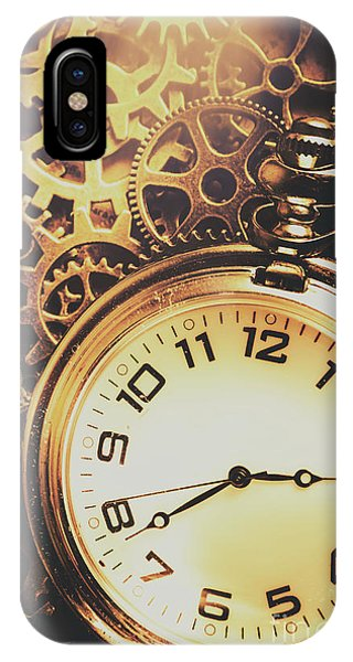 Industrial iPhone Case - Gears Of Time Travel by Jorgo Photography - Wall Art Gallery