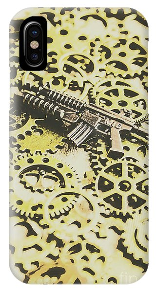 Armed iPhone Case - Gears Of War by Jorgo Photography - Wall Art Gallery