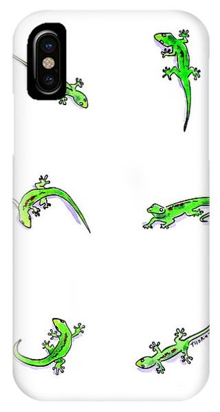 Gecko Play IPhone Case