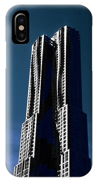 Gehry iPhone Case - Gehry In The Sky by Jessica Jenney