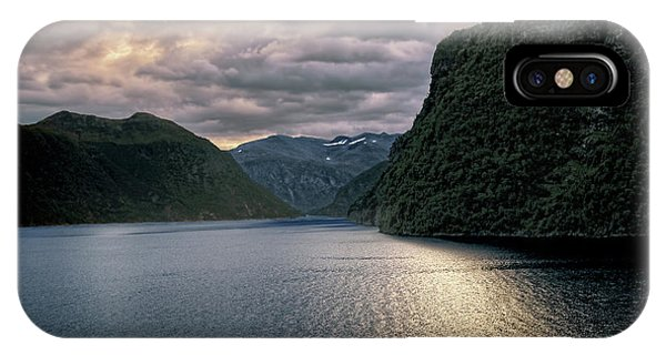 Geiranger Fjord IPhone Case