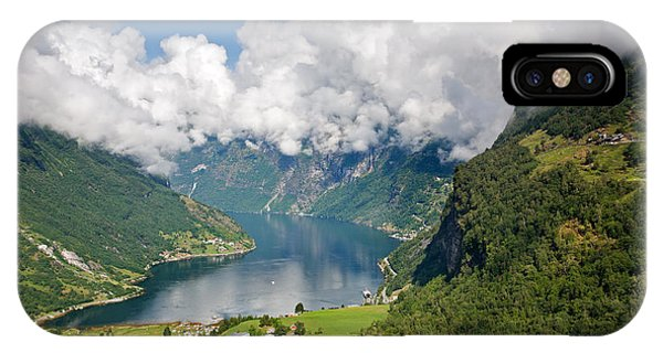Geirangerfjord IPhone Case