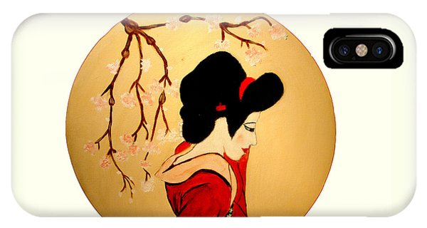 Geisha Girl IPhone Case