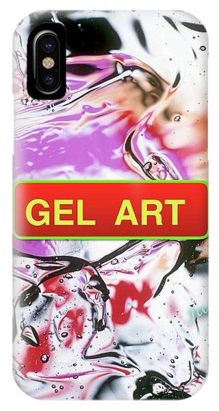 iPhone Case - Gel Art #1 by Jack Eadon