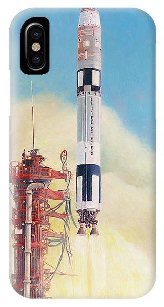 Gemini-titan Launch IPhone Case