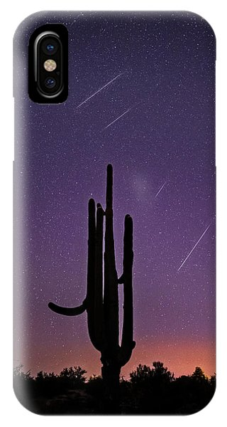 Geminid Meteor Shower #1, 2017 IPhone Case