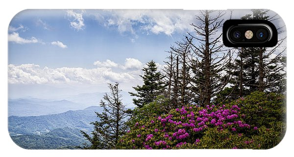 Rhododendrons - Roan Mountain IPhone Case