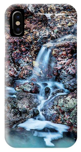 South Pacific Ocean iPhone Case - Gemstone Falls by Az Jackson
