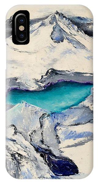 Gemstone Lake IPhone Case