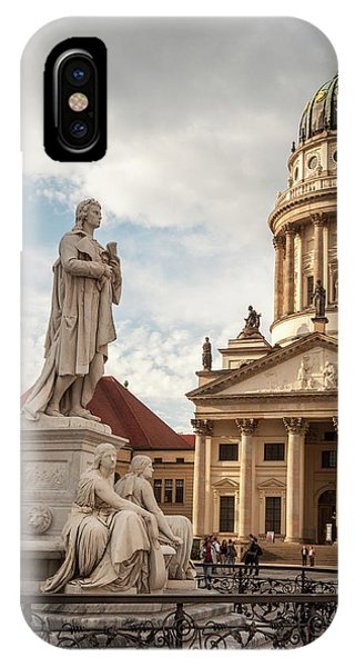 IPhone Case featuring the photograph Gendarmenmarkt by Geoff Smith