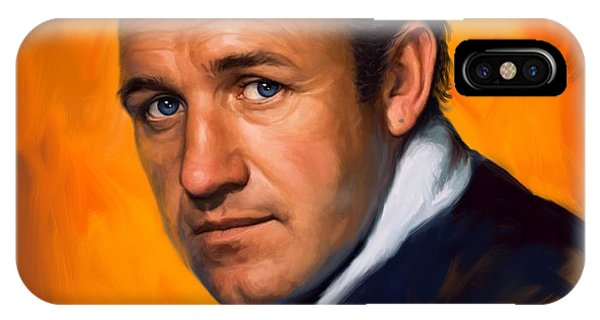 Gene Hackman IPhone Case