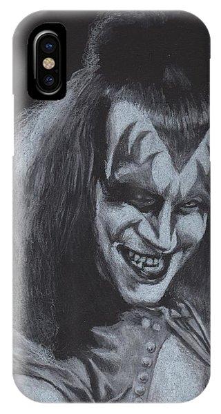Gene Simmons Demonic Sneer IPhone Case
