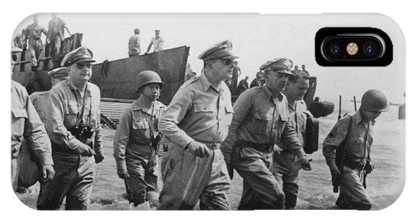 General Douglas Macarthur Returns IPhone Case