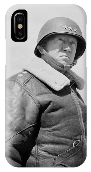 George iPhone Case - General George S. Patton by War Is Hell Store
