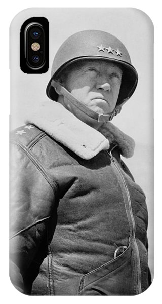 Patriot iPhone Case - General George S. Patton by War Is Hell Store