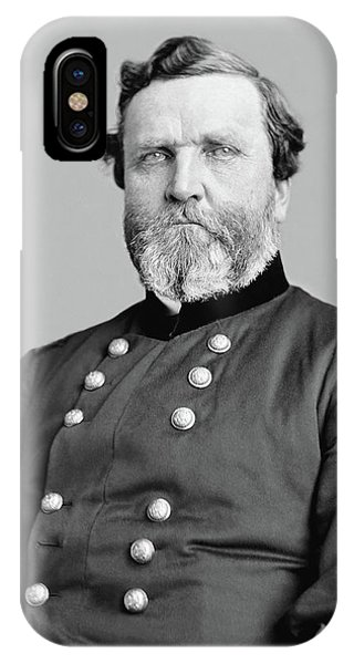 Leader iPhone Case - General George Thomas by War Is Hell Store