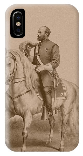 United States Presidents iPhone Case - General James Garfield by War Is Hell Store