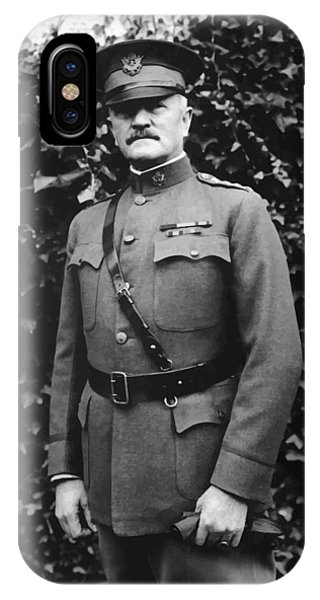 Wwi iPhone Case - General John J. Pershing by War Is Hell Store