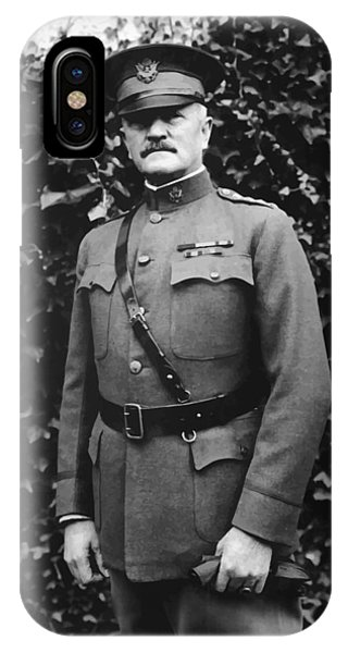Military iPhone Case - General John J. Pershing by War Is Hell Store