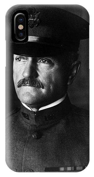 Wwi iPhone Case - General John Pershing Portrait by War Is Hell Store