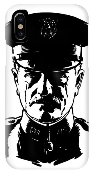 Wwi iPhone Case - General John Pershing by War Is Hell Store