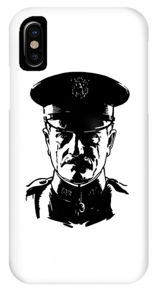 Military iPhone Case - General John Pershing by War Is Hell Store