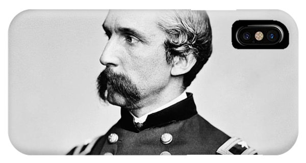 Hero iPhone Case - General Joshua Chamberlain  by War Is Hell Store