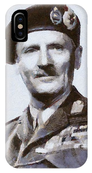 Wwi iPhone Case - General Montgomery by Esoterica Art Agency