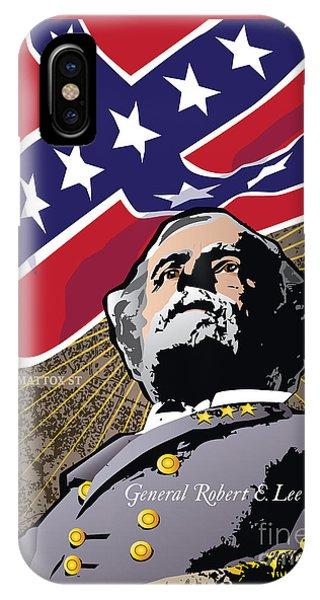 General Robert E. Lee At Appomattox IPhone Case