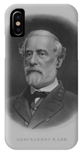 Patriot iPhone Case - General Robert E. Lee Print by War Is Hell Store