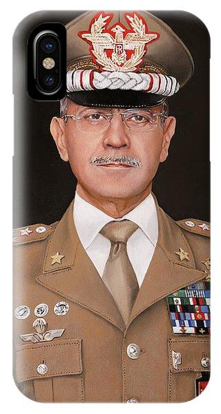 Army iPhone Case - Generale Danilo Errico by Guido Borelli