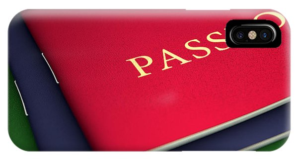 Generic Passport Stack  IPhone Case