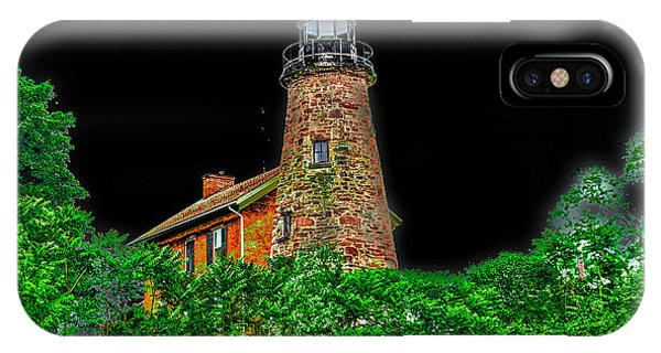IPhone Case featuring the photograph Genesee Lighthouse by William Norton