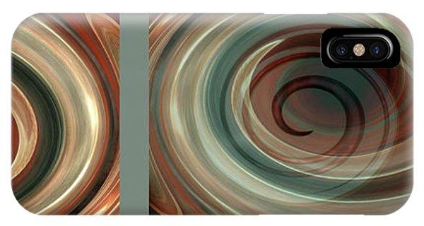 Susann Serfezi iPhone Case - Genesis Triptychon by AugenWerk Susann Serfezi