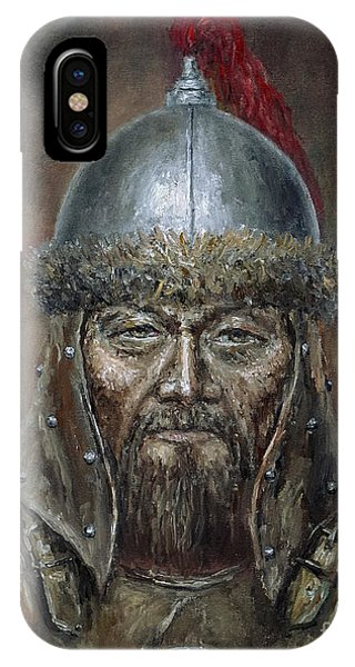 Genhis Khan IPhone Case