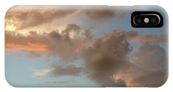 Gentle Clouds Gentle Light IPhone Case