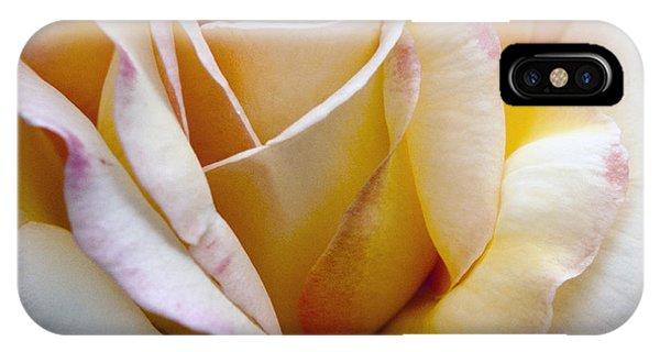 Gentle Swirls And Curls IPhone Case