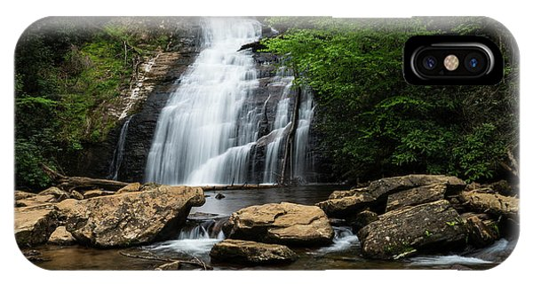 Gentle Waterfall North Georgia Mountains IPhone Case