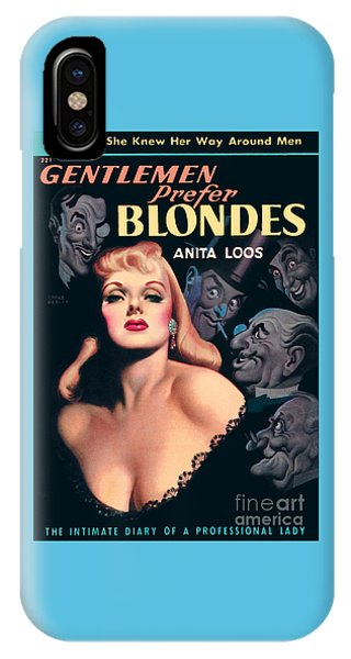 Gentlemen Prefer Blondes IPhone Case