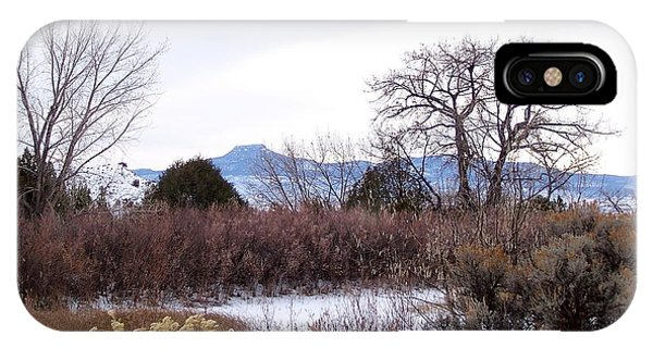 Geogia O'keefe's Pedernal Mountain IPhone Case