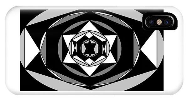 'geometric 1' IPhone Case