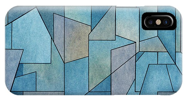 IPhone Case featuring the digital art Geometric Abstraction IIi by David Gordon